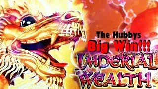 Imperial Wealth Big Slot Win!! The Hubbys Luck strikes again at San Manuel Casino