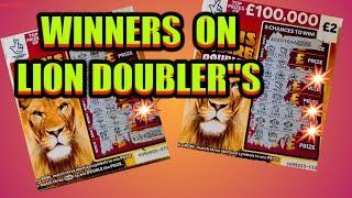 SCRATCHCARDS...£150.000 Month...LION DOUBLERS..JEWELS SMASH..£24.000 Month..CASH 7s DOUBLER..