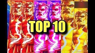 TOP TEN WINS: Zeus & Kronos Unleashed Slots