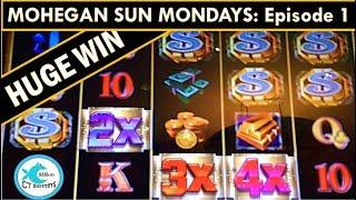 *HUGE WIN* Mega Vault Slot Machine - MOHEGAN SUN MONDAYS