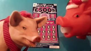 Full £500s..and....2x Bonus Poundland Scratchcards...in our..  One Card Wonder Game