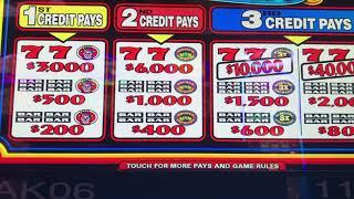 Sizzling 4x Pay - High Limit - $30/spin