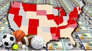 The States of Sports Betting in America!