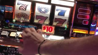 $50/Spin Wheel Of Fortune *High Limit* Double Diamond Deluxe Haywire White Ice Triple Stars &Diamond