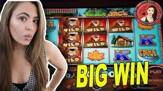 What Just Happened On TimberJack Slot Machine at Wind Creek!?