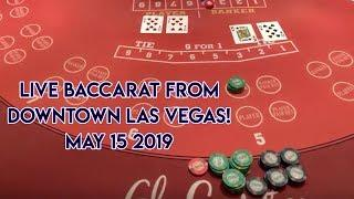 AWESOME WINNING SESSION ON BACCARAT from the El Cortez! May 15 2019