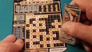 V.I.P. CASHWORD...One Card Wonder Scratchcard Game...mmmmmmMMM