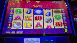 Double Top Dollar $50/Spin - Tiki Torch - Buffalo Inferno - High Limit Slot Play