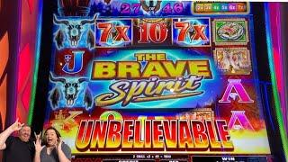 NEW GAME! Brave Spirit Free Spins by Aruze