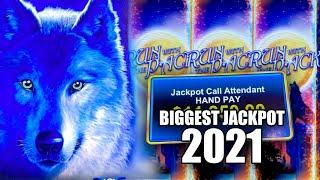 BIGGEST JACKPOT OF 2021  NON-STOP HIGH LIMIT JACKPOT WINS!    RUN WITH THE PACK WOLF RUN