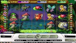 FREE Super Lucky Frog  slot machine game preview by Slotozilla.com