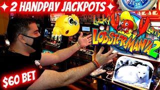 2 HANDPAY JACKPOTS On High Limit Slot Machines   Crazy High Limit Action & JACKPOTS   SE-10   EP-8