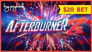 Quick Spin Afterburner 7s Slot - $20/SPIN FREE GAMES BONUS!