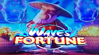 WAVES OF FORTUNE Free Spins Live Play Gold Fish for the BIG WINS (Bluberi)