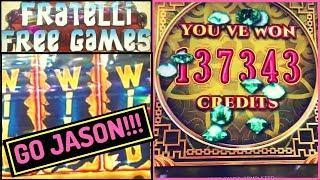 8 Petals HAND PAY by Jason & Goonies BONUS!  Slot Machines w Brian Christopher