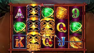 TOTEM TREASURE Video Slot Casino Game with a TOTEM TREASURE FREE SPIN BONUS