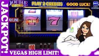 JACKPOT  High Limit Live Slot PlayDouble Gold Bar Triple Stars Double Top Dollar & more! VEGAS