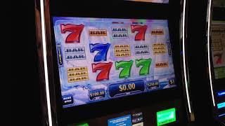 VGT Slots 20 Line $100 Max Bet Polar High Roller LIVE HANDPAY Choctaw Casino Durant, OK.