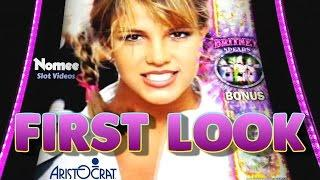 Britney Spears Slot Machine - First Look - Bonuses and Big Wins