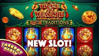 Jackpot trigger in Tree of Wealth: Rich Traditions!