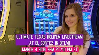 Ultimate Texas Hold'em Livestream!! March 4 2019