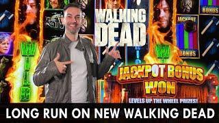 NEW!!  WALKING DEAD 3  Slot Machine