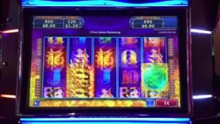 Rising Fire Dragon Slot Machine Free Spin Bonus Palazzo Casino Las Vegas