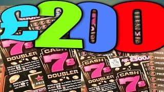 """More FANTASTIC SCRATCHCARD GAME..MONOPOLY""""WIN ALL""""""""CASH 7s"""