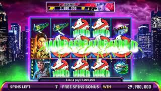 GHOSTBUSTERS: BACK IN BUSINESS Video Slot Casino Game with a GOZER THE GOZERIAN FREE SPIN BONUS