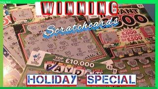 Special Holiday....All Winners Show.....Scratchcard George...Scratchcard Winners..mmmmmmMM