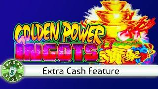 Golden Power Ingots slot machine Extra Cash Feature