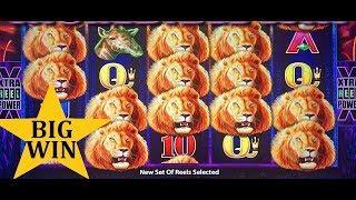 Sunset King Slot  Machine Bonus & Line Hit BIG WIN !!! Live Slot Play