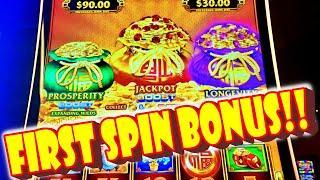 FIRST SPIN BONUS!! * DOUBLE BOOSTEDS!!! * I LOVE THIS LIGHTNING LINK - Las Vegas Casino Slot Big Win