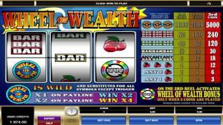 FREE Wheel of Wealth  slot machine game preview by Slotozilla.com