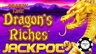 ️HIGH LIMIT Lightning Link Dragon's Riches JACKPOT HANDPAY  ️$25 MAX BET BONUS ROUND Slot Machine