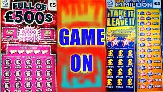"""AMAZING SCRATCHCARD GAME""""CASHWORD""""MONOPOLY""""TAKE IT- LEAVE IT"""