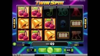 Twin Spin slot from NetEnt - Gameplay