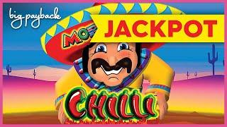 JACKPOT HANDPAY! More More Chilli Slot - RARE LUCKY FEATURE & MORE!