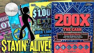 Stayin' Alive  Just Takes 1 Single Match!  $200 CHALLENGE ROUND 2