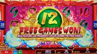 Phoenix Princess Slot Machine Bonuses Won | Live Konami Slot Play