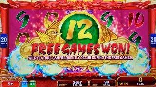 Phoenix Princess Slot Machine Bonuses Won | Live Konami Slot Play