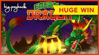 INCREDIBLE BONUS!! Emerald Dragon Slot - AWESOME SESSION, HUGE WIN!