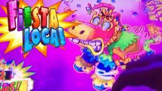 First Spin BONUS Fiesta Loca! I hope this Piñata is Full of MONEY!