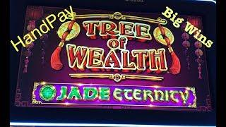 TREE OF WEALTH  HANDPAY  MAJOR BIG WINS