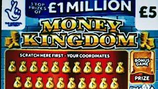 MORE BIG SCRATCHCARDS...CASH SPECTACULAR..MONEY KINGDOM..LION DOUBLERS...CASH 7s..£100 BONUS
