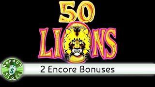 50 Lions slot machine, 2 Encore Sessions