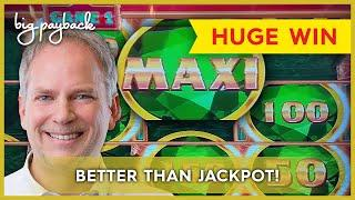 OVER 1000X WIN, WOW!! Mighty Cash Double Up Money Dragon Slot - INCREDIBLE SESSION!
