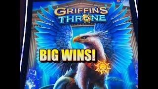 GRIFFINS THRONE SLOT: BIG WINS, BONUS!