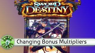 Sword of Destiny slot machine bonus
