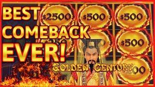 HIGH LIMIT Dragon Link Golden Century HANDPAY JACKPOT ~ EPIC COMEBACK $50 Bonus Round Slot Machine